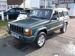 old jeep cherokee for sale jeep cherokee 4 0 classic automatic 4x4 a c petrol