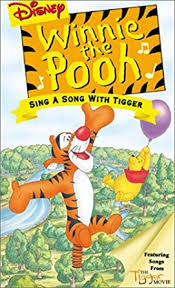 amazon winnie pooh sing song tigger vhs jim