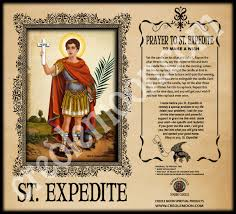 st expedite fixed devotional candle to make a wish