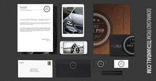 design mockups for branding and identity projects