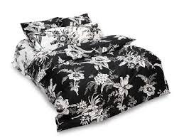 Black Floral Bedding Black And White Modern Bedding Sets Floral And Polka Dot Designs