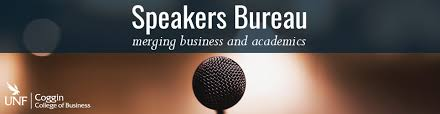 business speakers bureau unf coggin of business home