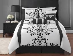 Black And White And Red Bedroom Glamorous 70 Black And White Bed Sets Inspiration Of 15 Black And