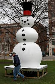 frosty snowman and other vintage decorations return to