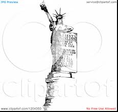 stunning american flag coloring page with statue of liberty