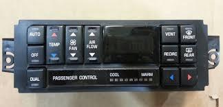 used 1999 buick regal a c u0026 heater controls for sale