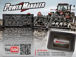 power manager tuning john deere case new holland versatile
