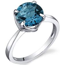 topaz engagement ring blue topaz non engagement rings weddingbee