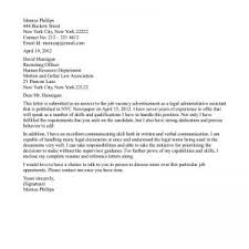 cover letters legal assistant cover letter samples of paralegal