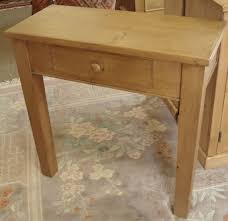 Pine Console Table Honey Pine Console Table U2013 Coppice Old Pine