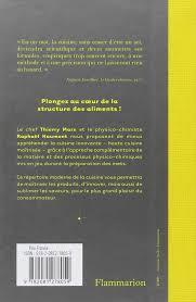 cuisine innovante le repertoire de la cuisine innovante thierry marx 9782081278059