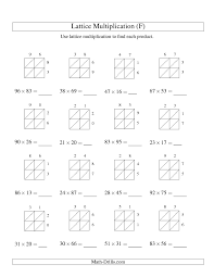 two digit times one digit multiplication worksheets multiplication worksheets multiplication worksheets 05