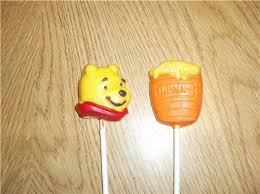 Lollipop Party Favors Winnie The Pooh Or Hunny Pot Chocolate Lollipops Party Favors