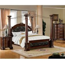 Best Bedroom Set Images On Pinterest Queen Bedroom Sets - Black canopy bedroom sets queen