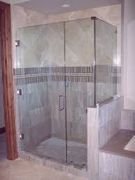 Door Ideas For Small Bathroom Bathroom 3 4 Shower Glass With Left Handed Door Design For Small