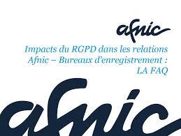 bureau d enregistrement nom de domaine impacts rgpd dans les relations avec votre bureaux d enregistrement