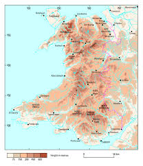 Map Of Wales Wales An Introduction Earthwise