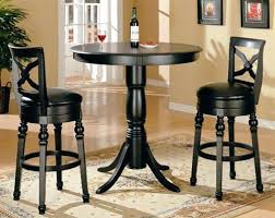 pub table and chairs simple dining room design with square pub