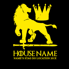 house lannister house lannister game of thrones style stag t shirt black country t