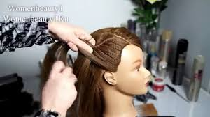 easy and quick hairstyles for school dailymotion video easy prom hairstyles for long hair bridal hairstyle tutorial