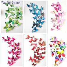 feature wall stickers reviews online shopping hot sell cheap pcs beautiful chinese wind feature butterfly for diy marriage room parlour bathroom glass wall decoration