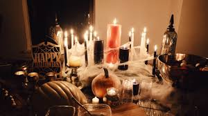Haunted Halloween by Haunted Halloween Dinner Party U2014 The Blonde Vagabond