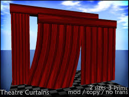 second life marketplace theatre curtains click to open and close