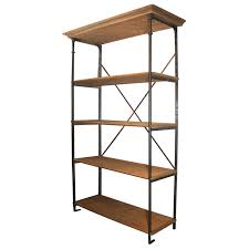 an overview of wood and metal bookcase home decor