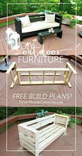 Build Deck Bench Seating Learn How To Easily Build Your Own Outdoor Sofa And Coffee Table