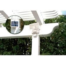 solar powered outdoor motion lights powered motion sensor outdoor light white
