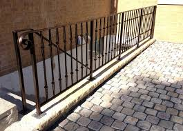 Wrought Iron Banister Good Exterior Wrought Iron Railing U2014 Railing Stairs And Kitchen