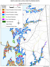 Eastern Shore Virginia Map by Sea Level Rise Planning Maps Likelihood Of Shore Protection In