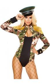 Dancer Halloween Costumes Costumes Military Costumes Female Army Costumes