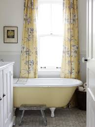 stunning bathroom cast iron clawfoot tub chrome feet chrome wall large size of bathroom cream acrylic clawfoot tub metal bathtub caddy yellow flower pattern curtain