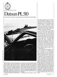 april 1968 datsun 510 car u0026 driver road test