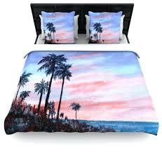 Pottery Barn Tropical Bedding 48 Best Palm Tree Bedding Images On Pinterest Inside Duvet Cover