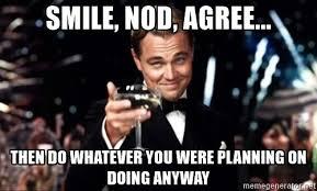 Meme Leonardo - leonardo meme smile and nod 100 000 deep dish