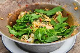 cuisine chou chinois recette salade de chou chinois au haddock
