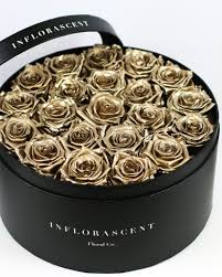 gold roses luxury black box gold roses that last a year