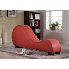 Leather Chaise Lounge Faux Leather Chaise Lounge Cl 12 The Home Depot