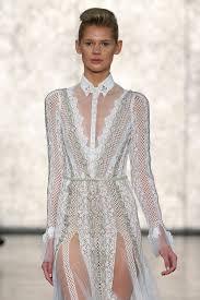 wedding dress new york best of bridal fashion week inbal dror wedding dress collection