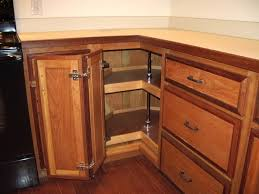 Corner Cabinet Solutions In Kitchens Kitchen Corner Cabinet With Pull Out Racks