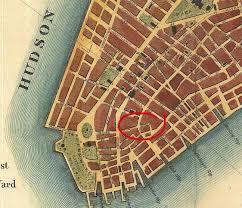 downtown manhattan map beaver financial district forgotten york