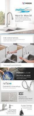 motionsense kitchen faucet 100 moen motionsense kitchen faucet home depot bathroom