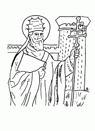 saint coloring page coloring pages of saints coloring home
