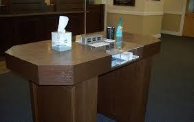 Commercial Desk Commercial Gallery Custom Cabinetry Md U0026 De The Cabinet Shop