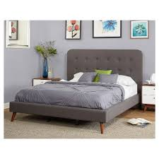 jillian upholstered queen bed target