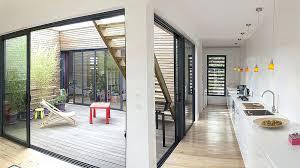 ecole cuisine architecte interieur bordeaux interieur vue patio cuisine maison