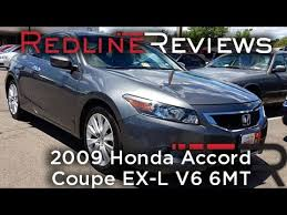 honda accord coupe 2009 2009 honda accord coupe ex l v6 6mt walkaround review test drive