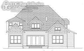arts and crafts bungalow house plans 4 beds edg plan collection